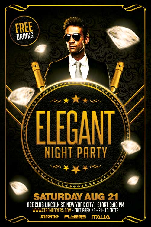 Free Elegant Flyer Template