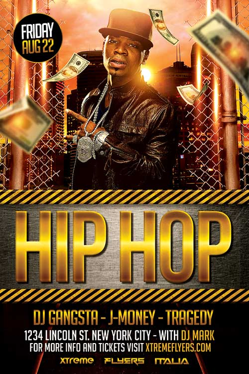 XtremeFlyers - Hip Hop Flyer Templates