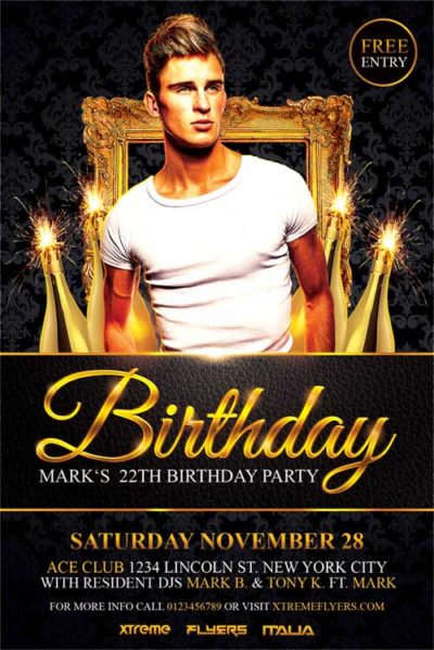 Birthday Flyer Template