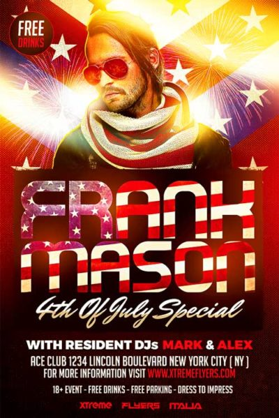 4th of July DJ Flyer
