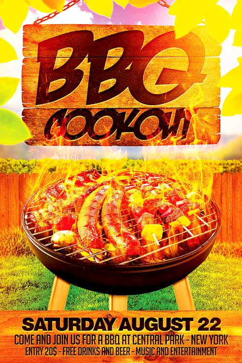 cookout flyer templates - anuvrat.info