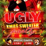 Ugly Christmas Sweater Party Flyer Template Download