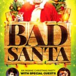 Bad Santa Xmas Flyer Template